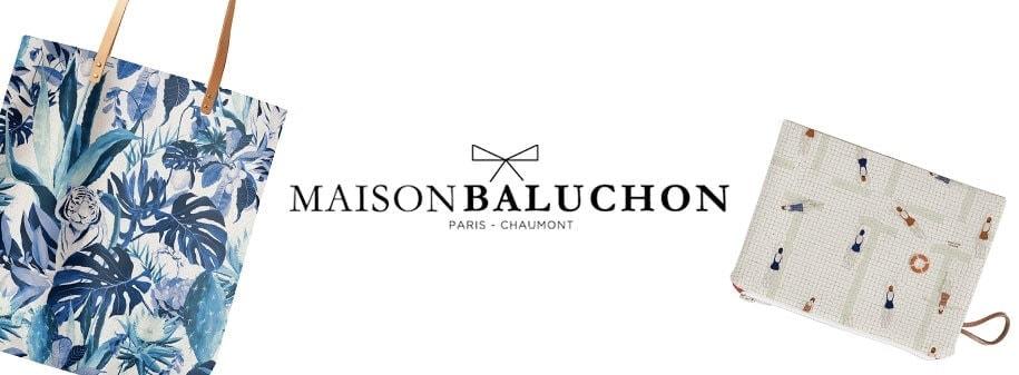 Pochettes, Sacs et Foulards d'exception par Maison Baluchon chez Poisson Plume