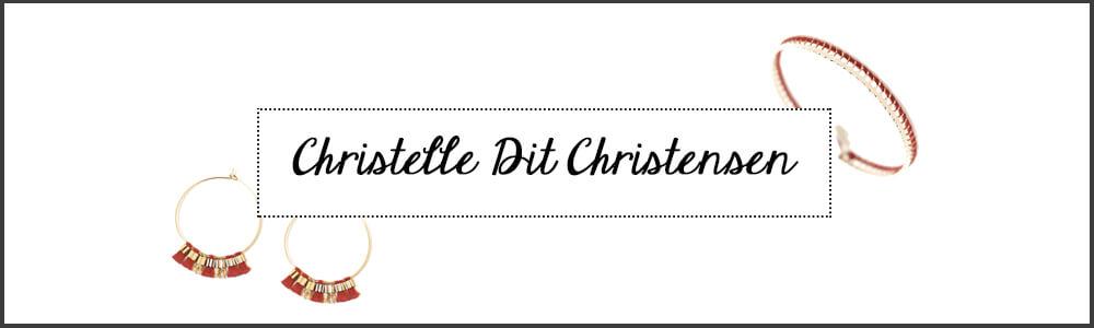 Créatrice de bijoux fantaisie Christelle dit Christensen chez Poisson Plume