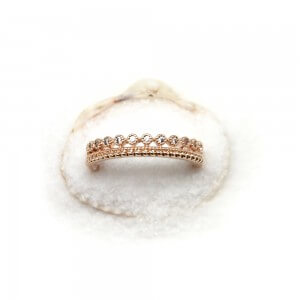 bague melbourne collection Poisson plume