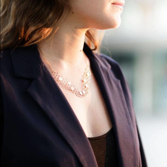 collier-aveoles gisel b boutique Poisson Plume