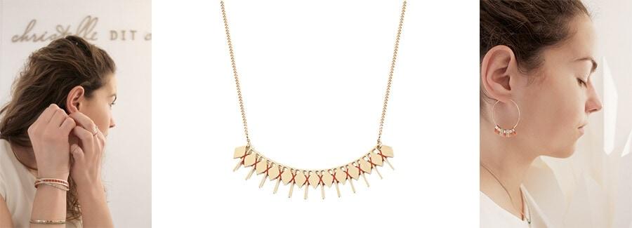 créatrice française de bijoux fantaisie Christelle dit Christensen