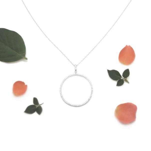 collier fantaisie en argent monteverde chez Poisson Plume