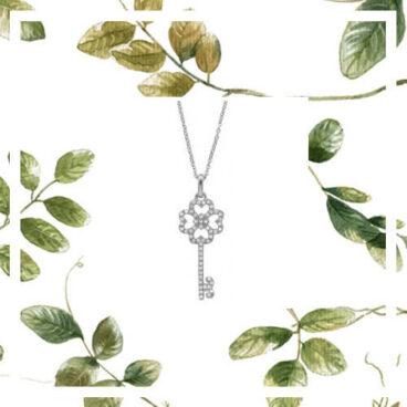 collier fantaisie clé cololection canopée Poisson Plume bijoux
