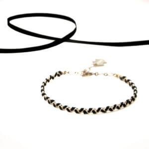 Bracelet fantaisie de créatrice parfait pour une soirée chez Poisson Plume