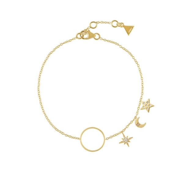 bracelet étoiles et lune chez Poisson Plume