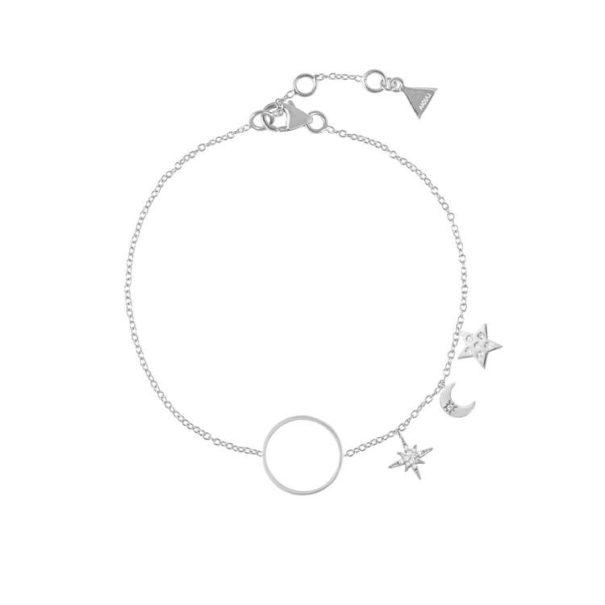Bracelet de createur symboles etoiles poisson plume
