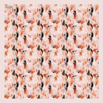 foulard carré Maison Baluchon chez Poisson Plume
