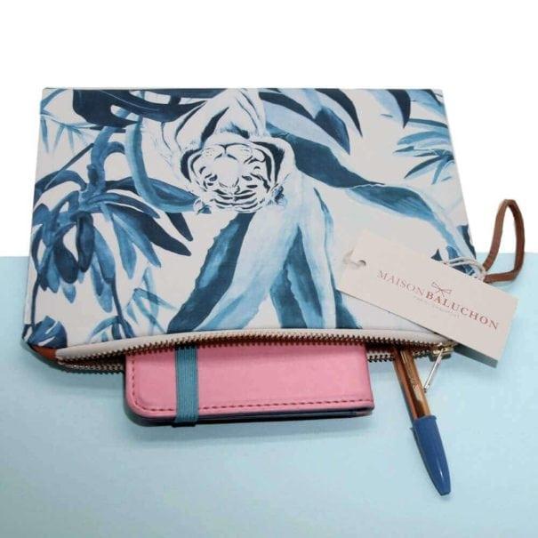 pochette-tigre-bleu-poissonplume-maisonbaluchon