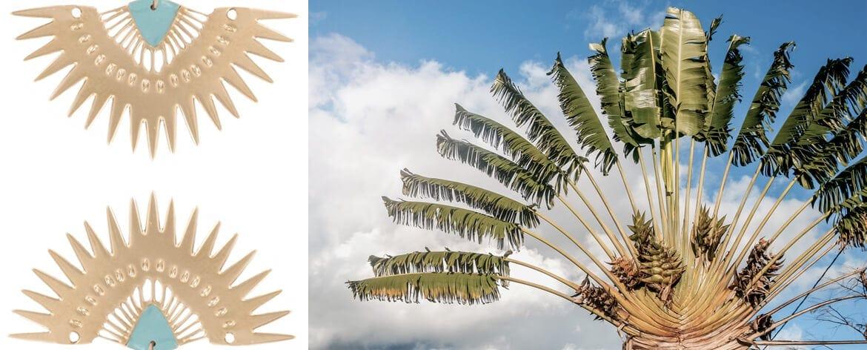 Bijoux boucles d'oreilles Madagascar Laëti Trëma