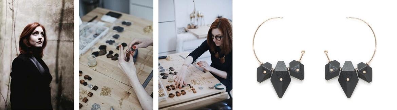 Créatrice de bijoux Salomé Charly à Paris