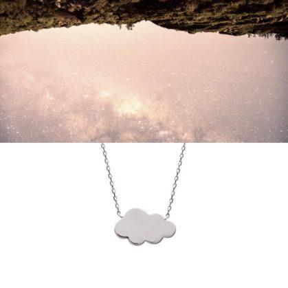 Collier nuage en argent 925 chez Poisson Plume
