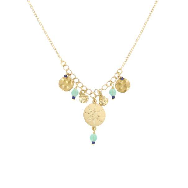 collier de créatrice Laëti Trëma chez Poisson Plume bijoux