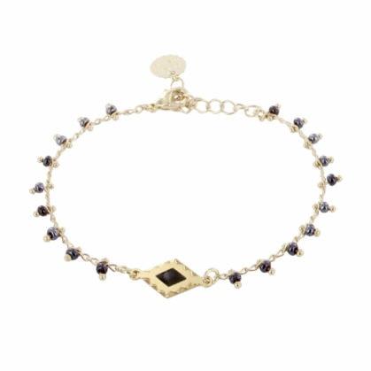 Bracelet fin Telouet de la collection Zagora, de Laëti Trëma