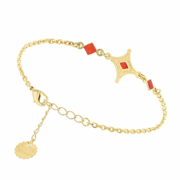 Bracelet talisman étoile