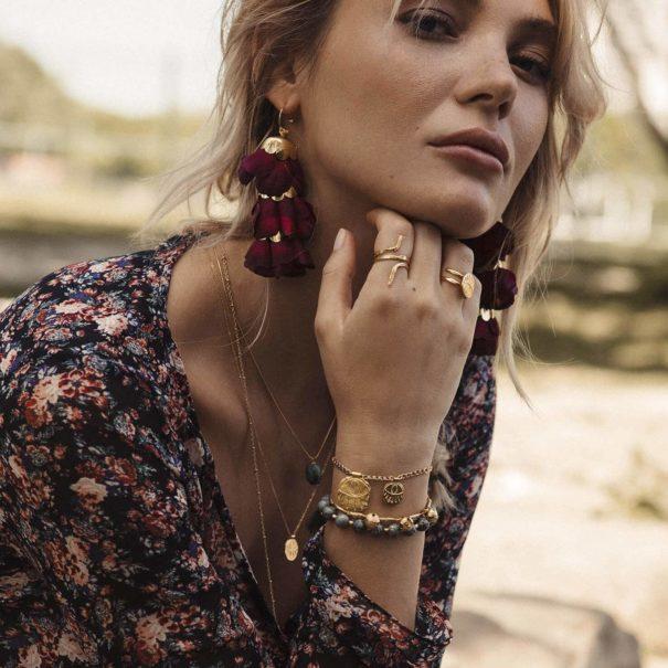 Bracelets en accumulation Ramos Elise Tsikis Paris