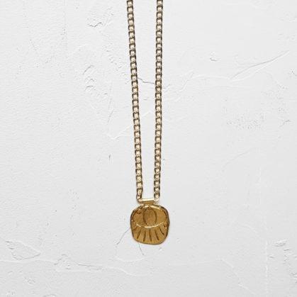 Collier de créateur médaille Topia chez Poisson Plume