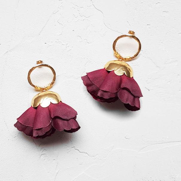 Boucles d'oreilles de créateur Maison Elise Tsikis Paris
