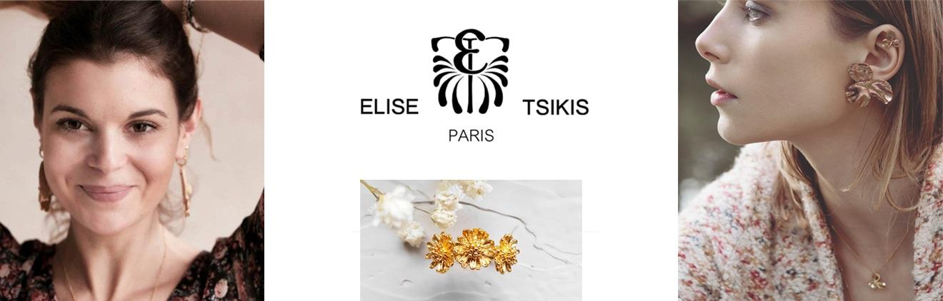 Collections de bijoux Elise Tsikis Paris chez Poisson Plume.