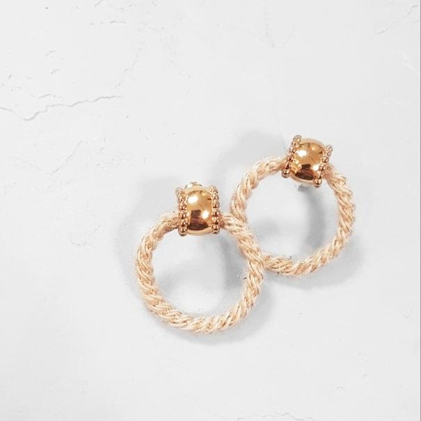 Boucles d'oreilles romantiques Aradassa, par Elise Tsikis