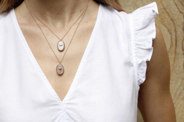 Collier amulet d'LExiane bijoux chez PoissonPlume