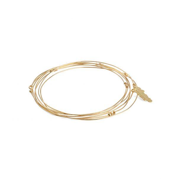 Bracelet semainier. une création en vente chez POisson Plume, réalisée par Alexiane