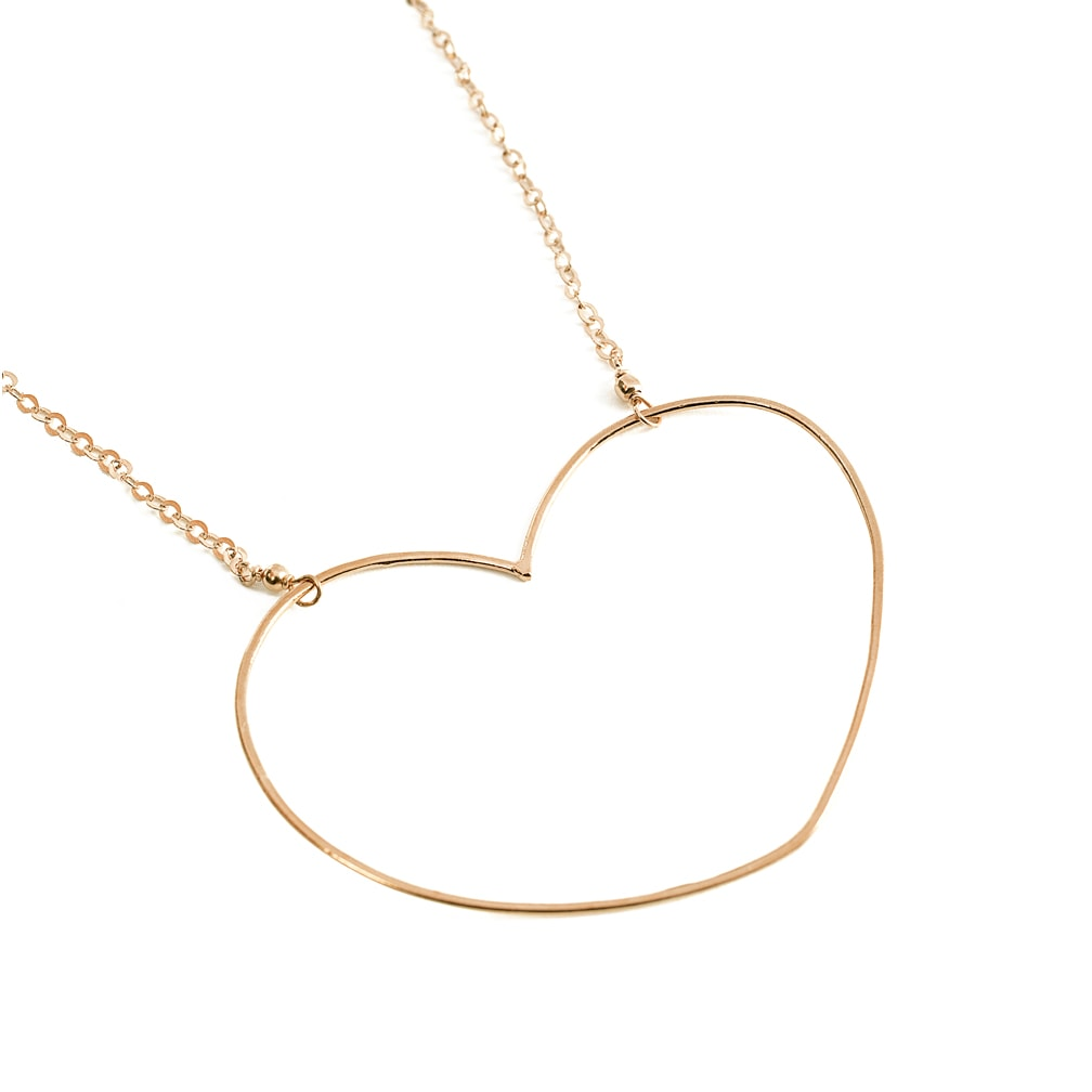 nouveaux styles 57ead 138f1 Collier Coeur Aphrodite - Alexiane Bijoux - Poisson Plume