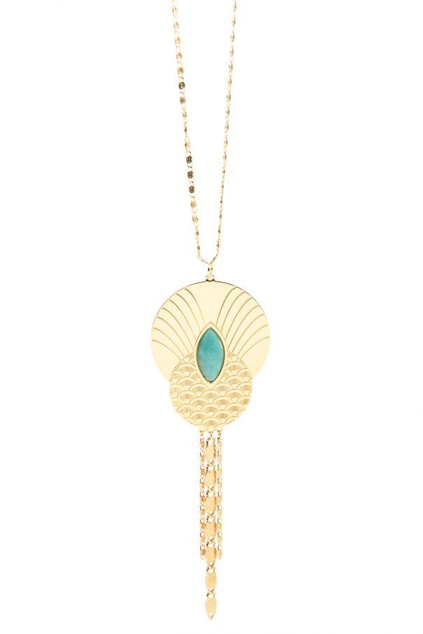 Sautoir de créateur honolulu chez Poisson plume bijoux
