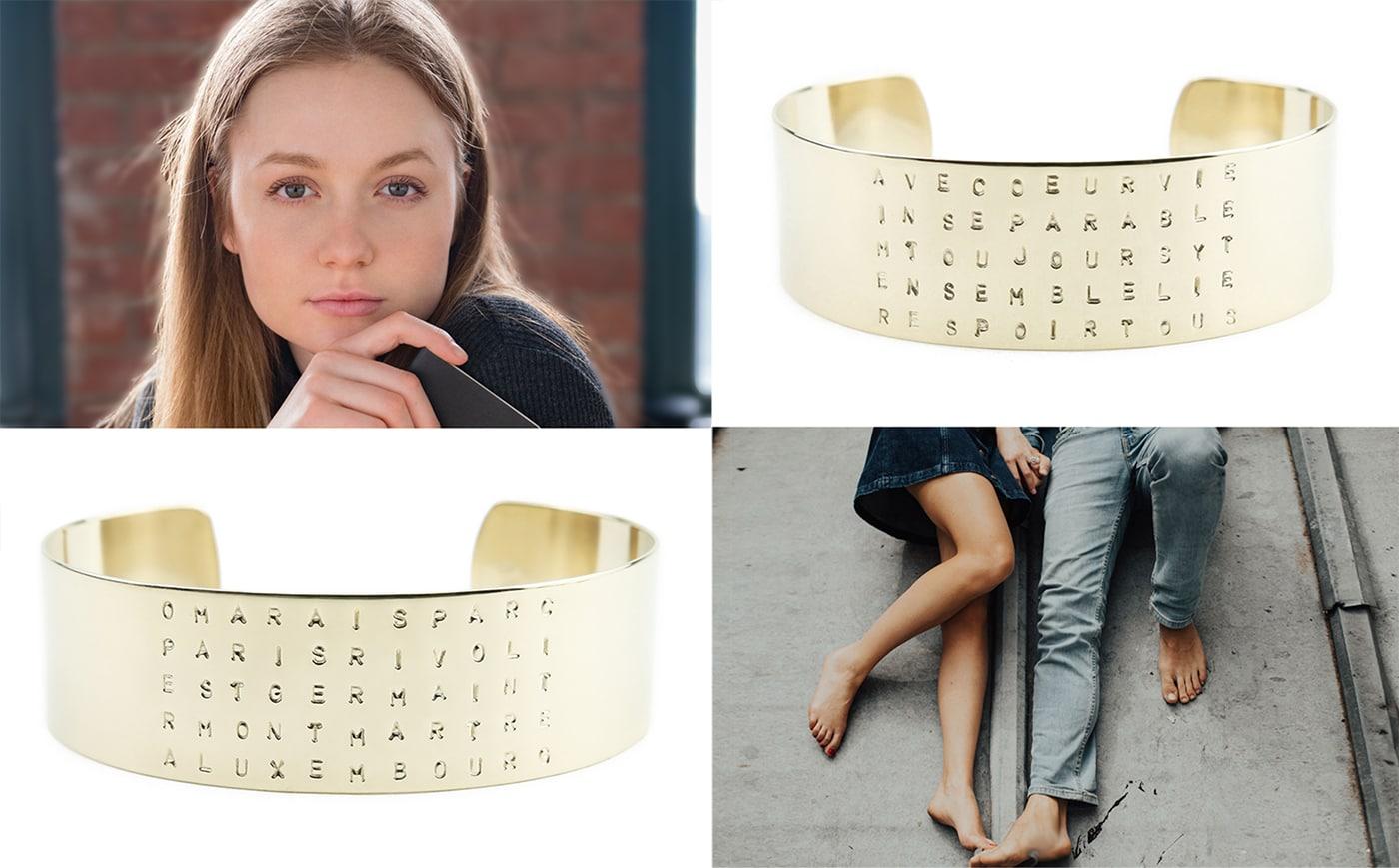 Bracelets de la créatrice française Amoodz