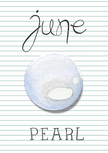 juin : la perle et la pierre de lune