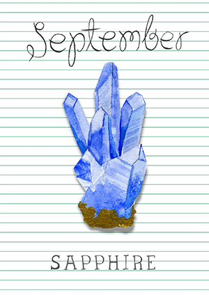 septembre : le saphir