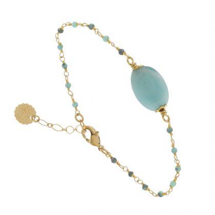 Bracelet Arequipa et ses pierres fines amazonite