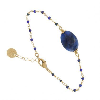 Bracelet Arequipa et sa pierre fine sodalite