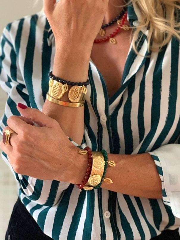 bracelets pampilles pierres fines dear charlotte