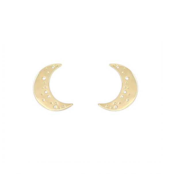 boucles dorées croissant de Lune chez poissonplume