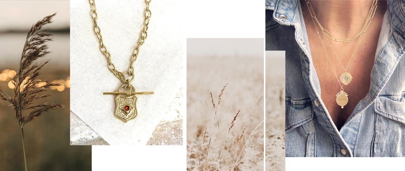 Bijoux de créateur Virginie BErman chez poisson plume