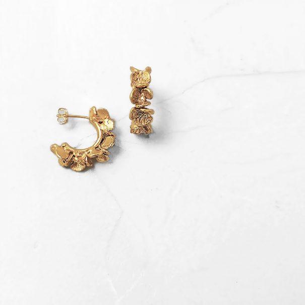 Boucles hyacynthe fleurs elise tsikis
