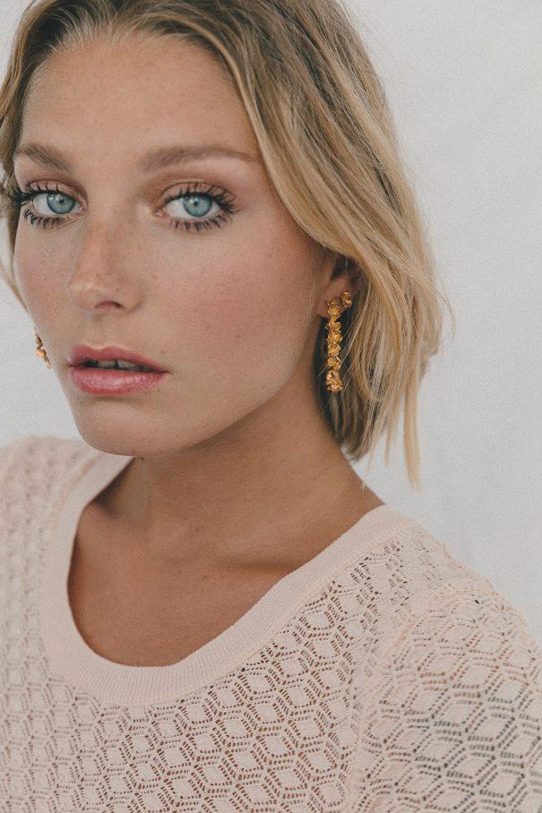 boucles d'oreilles Racine Elise Tsikis