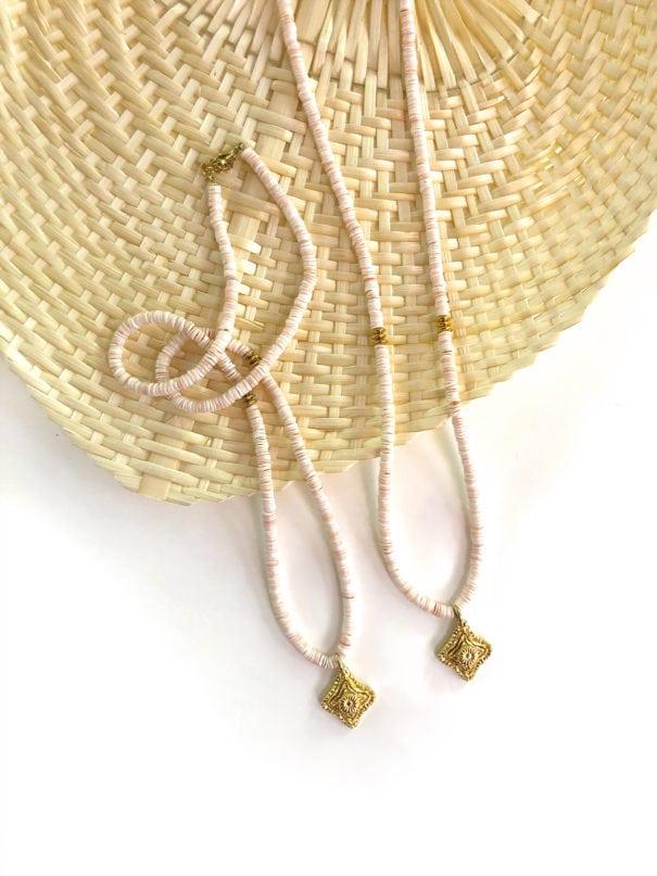 colliers talismans corail peche chez poisson plume bijoux