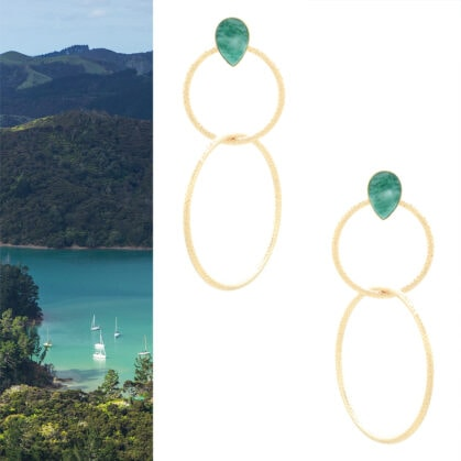 boucles antigua amazonite