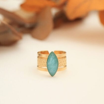 Bague joy honolulu amazonite