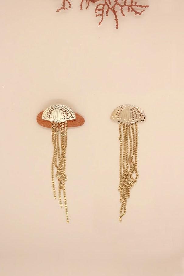 boucles oreilles ombrelles collection ocean V