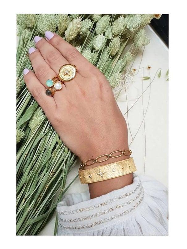 bracelet martelé louise