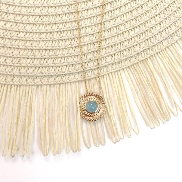 collier agate lou poissonplume bijoux C1000