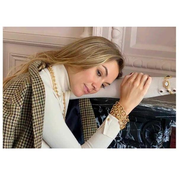 Bracelet destrée maillons ovales