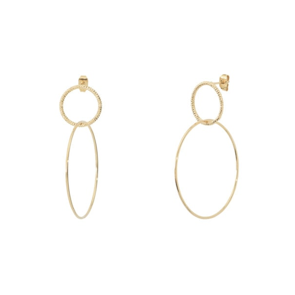boucles d'oreilles love mary duo