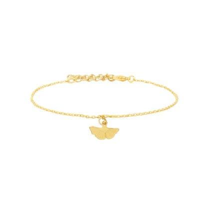 bracelet ginko feuille