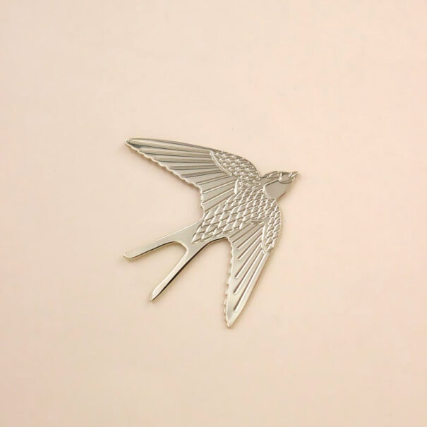 pin's hirondelle