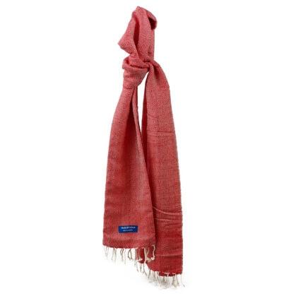 foulard petit krama chaud rouge coquelicot