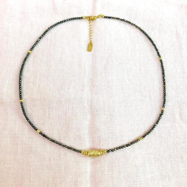 Collier amaia pyrite