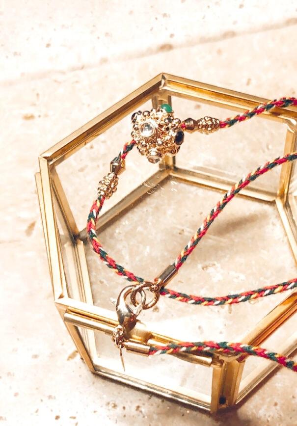 Collier ravhi sphere virginie berman chez poissonplume bijoux